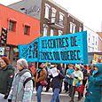 Manifestation pour la pleine indexation des prestations d'aide sociale (1/3)