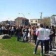 Des militantes de Laval, de la Montérégie et de Montréal se mobilisent
