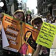 À la Marcha de las Mujeres