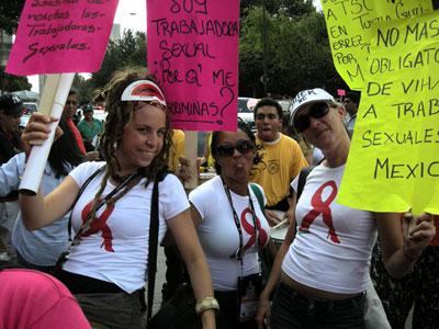 A la Marche des femmes - Mexico 2008