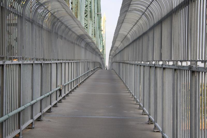 Les clôtures du pont Jacques-Cartier
