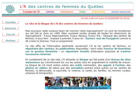 L'R des centres de femmes du Québec