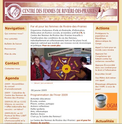 Centre des femmes de Rivière-des-Prairies
