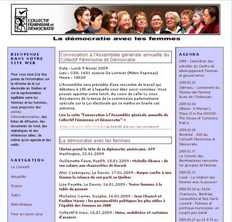 Collectif Féminisme et Démocratie