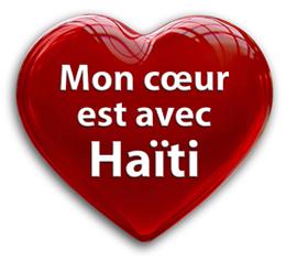 Mon coeur est avec Haïti