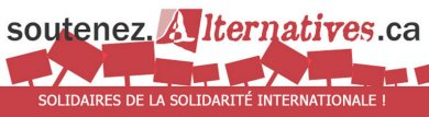 Soutenez Alternatives