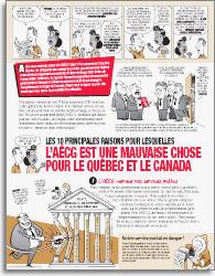Les 10 principales raisons pour lesquelles l'AECG est une mauvais chose pour le Québec et le Canada