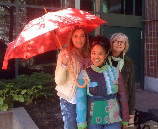 Claire Thiboutot, Maria Nengeh Mensah et Louise Toupin