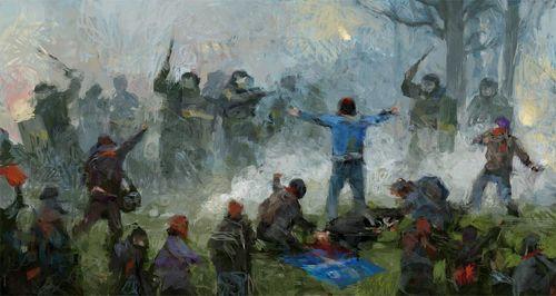 La bataille de Victoriaville