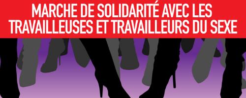 Marche de solidarité avec les TDS