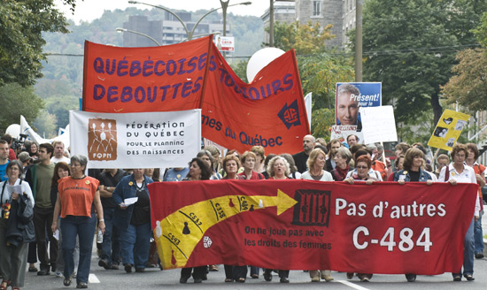 Manifestation du 28 septembre 2008