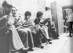 Occupation de l'Église Saint-Nizier par les prostituées en 1975