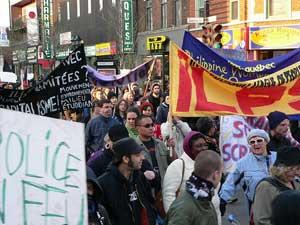 Photos de la manif du 1er mai 2008