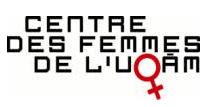 Centre des femmes de l'UQAM