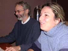 Paul Morin et Katia Isabelle du Collectif de défense des droits de la Montérégie