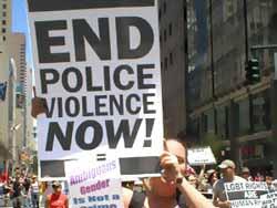 End Police Violence NOW. AI USA
