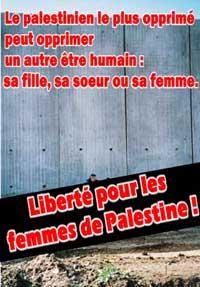 Liberté pour les femmes de Palestine