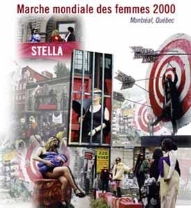 Les travailleuses du sexe lors de la Marche mondiale des femmes en l'an 2000, Montréal. Montage : Julie Lapalme